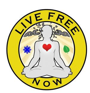 Live Free Now Podcast Logo