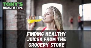 Drinking juice