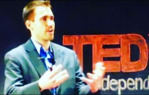 Tony Farmer's Ted talk at TEDx conference in 2016